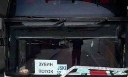 Kapen granata në autobusin me serbë që tentoi të futet në Kosovë