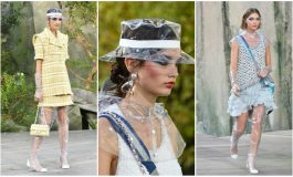 Materialet plastike, trendi i fundit në modë (Foto)