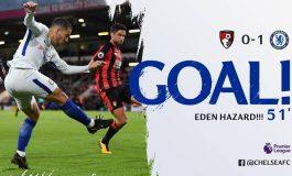 Chelsea kalon në epërsi ndaj Bournemouth, shënon Hazard (VIDEO)