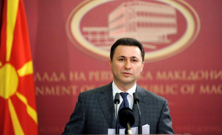 Gjykata e Apelit refuzon ti kthejë pasaportën Gruevskit