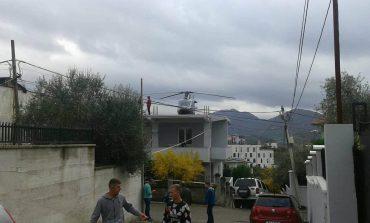 Dasma që po tërbon Tiranën/ Merr nusen me helikopter mbi taracën e vilës (Foto/Video)
