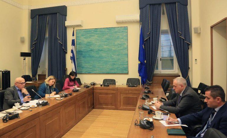 Marrëdhëniet me Greqinë/ Deputeti i PD takime në Athinë