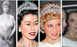 FOTO/ Si ruhen dhe kalojnë kurorat nga një princeshë në tjetrën. Si Kate ashtu dhe Camilla zgjedhin...