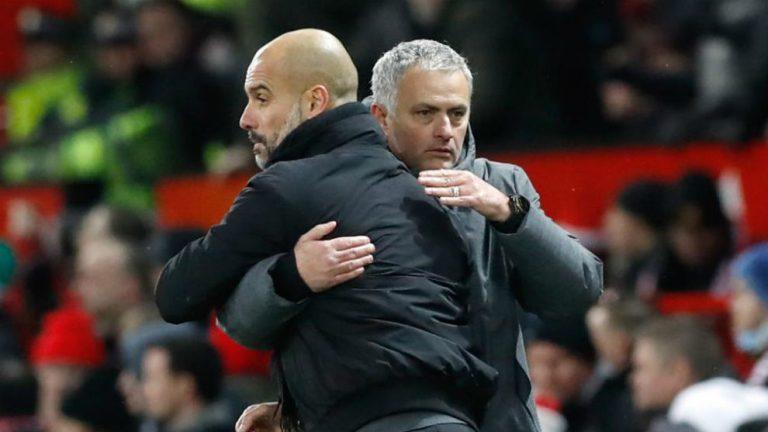 Guardiola mund ta fitojë titullin në Angli kundër Mourinhos