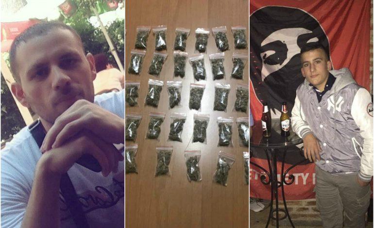 """FOTO/ Shpërndanin drogë nëpër shkolla. Këta janë """"TRE MUSKUTJERET"""" e Tiranës që u arrestuan sot"""