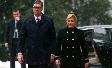 Vuçiç vizitë zyrtare në Kroaci për uljen e tensioneve mes dy vendeve