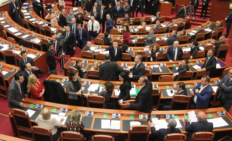 PD-LSI në protestë/ Kuvendi miraton Kodin e Sjelljes me votat e PS-së dhe PDIU-së