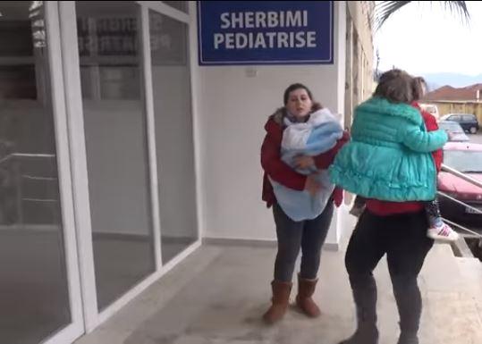 """""""ÇMENDURIA E VIROZAVE""""/ Alarm në PEDIATRINË e Elbasanit, flet mjekja: 200 raste në ditë"""