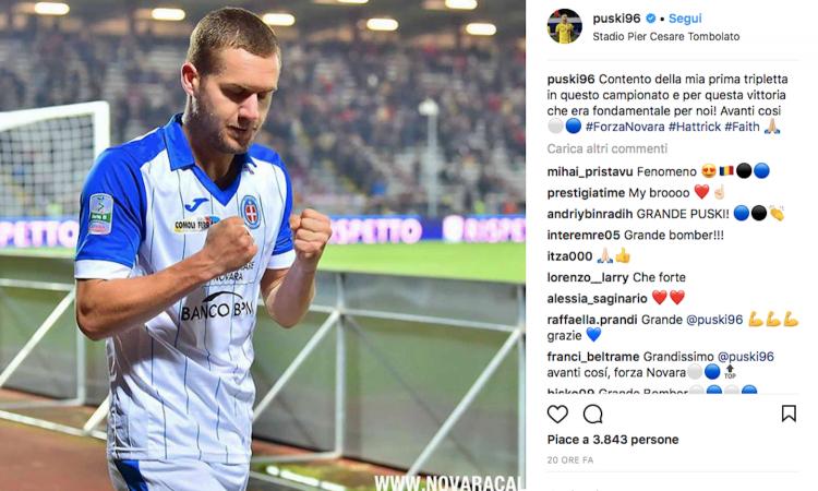 Tregolësh dhe shifra rekord, Puscas bën të ëndërrojë Inter-in