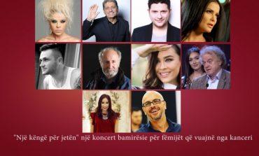 """""""Një këngë për jetën""""/ Kur artistët shqiptarë dhe studentët bëhen bashkë për një koncert bamirësie (FOTO)"""
