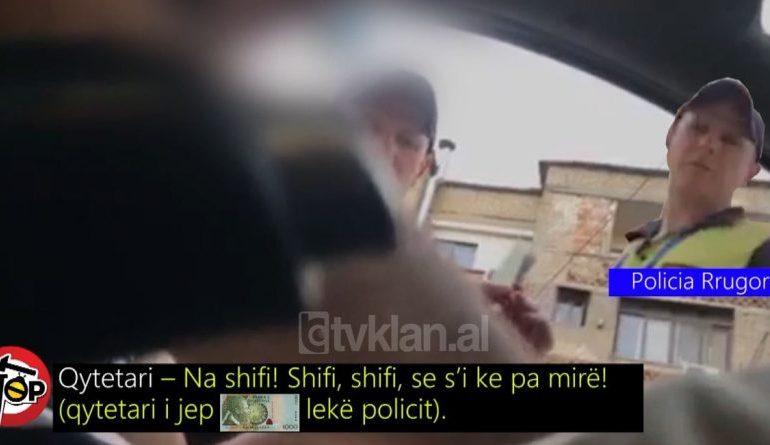 """""""Leka për xhaxhi policin…""""/ I doli kamera e fshehtë në media, efektivi i policisë pezullohet nga detyra"""