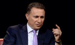 Nikola Gruevskipas dënimit me 2 vjet burg thyen heshtjen: Kokën lartë maqedonasit e mi