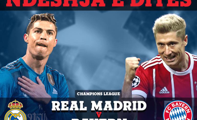 Finalja e parakohshme/ Reali përplaset me Bayern në duelin e vitit!