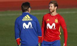 Pas shkarkimit të Lopoteguit/ Pique evitoi përleshjen mes Ramosit dhe zyrtarit të federatës spanjolle