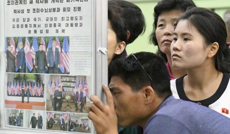 FOTO/ Takimi Trump-Kim, ja çfarë shkruajnë sot mediat në Korenë e Veriut