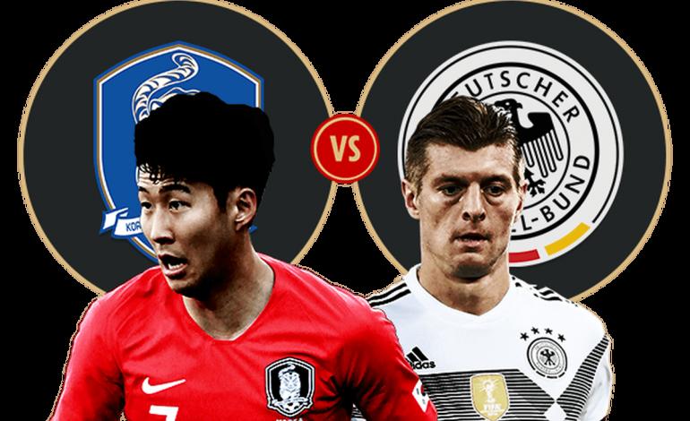 """LIVE/ """"Beteja e jetës"""", Gjermania luan kualifikimin ndaj Koresë së Jugut"""