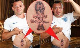 """Botërori i lë me """"pasoja"""" tërë jetën, tifozët e Anglisë nxituan me tatuazhet (FOTO)"""