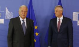 KONFERENCA/ Liberalizimi i vizave në Kosovë. Eurokomisioneri Avramopulos: Sot nuk ka përgjigje pozitive por...