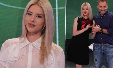 """Fansat kapin ngushtë Fjoralbën e """"Top Arenës"""", ja detaji në FOTO që po çmend rrjetin: Këmba ku..."""