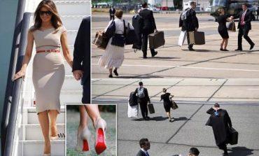 """Melania Trump si """"ikonë"""" MODE/  """"PUSHTON"""" Britaninë e Madhe me stilin e saj (FOTO)"""
