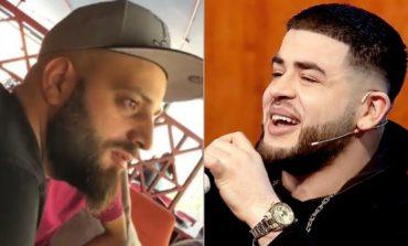 """""""E bëri në brekë prej TËRMETIT''/ Noizy TURPËRON Varrosin para fansave (FOTO)"""