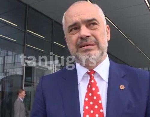 """SAMITI/ Rama për """"Tanjug"""": Besoj në një zgjidhje të shpejtë mes Serbisë dhe Kosovës"""