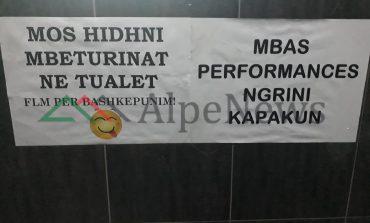 """NDODH NË TIRANË/ Pronari i lokalit kërkon """"bashkëpunimin"""" e klientëve pas """"performancës"""" së tyre"""