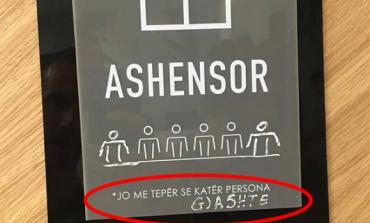 Shqiptari nuk DORËZOHET! Kur ashensori të lejon 4 persona... i shton dhe 2 vetë! (FOTO)