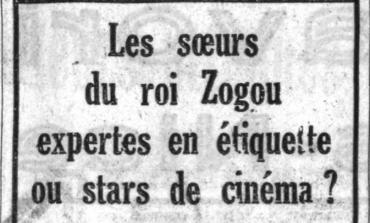 """AURENC BEBJA/ Kur """"Hollywood""""-i kërkonte motrat e Zogut për aktrim"""