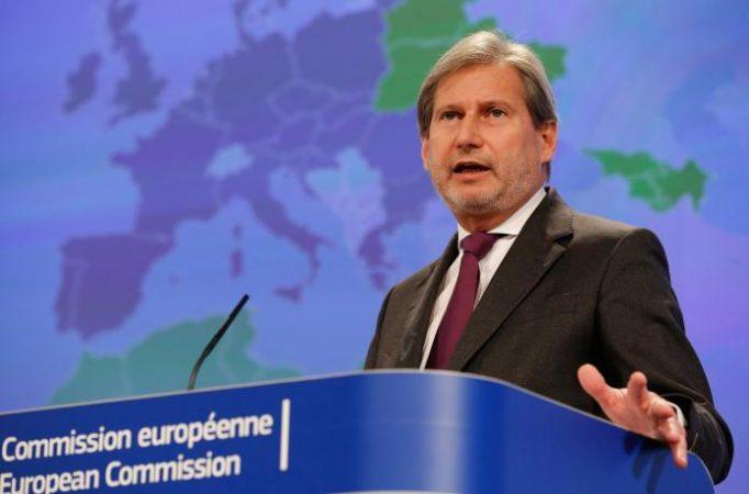 DISKUTIMET KOSOVË-SERBI PËR KUFIJTË/ Hahn: Zgjidhja duhet t'i kontribuojë rajonit