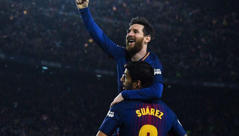 """LËVDATA PËR """"PLESHTIN""""/ Suarez: Messi meriton më shumë trofe të Ligës së Kampionëve"""