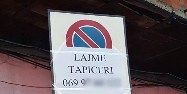 NDODH NË TIRANË/ Kur sinjalistika rrugore zëvëndësohet me… Larjen e tapicerive! (FOTO)
