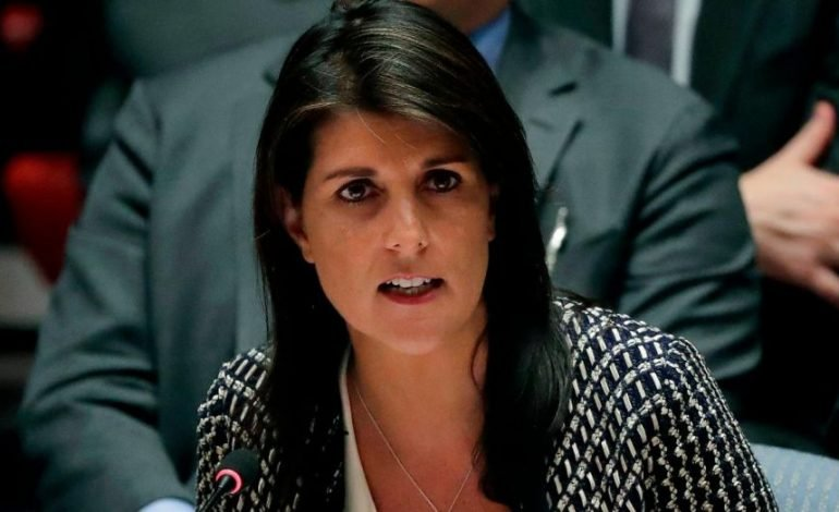 SURPRIZA NGA KABINETI TRUMP/ Jep dorëheqjen ambasadorja e SHBA në OKB, Nikki Haley