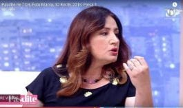 """""""XHISIELA""""/ Ish-redaktorja e Top Channel dhe pedagogia SULMON Eni Vasilin: Je në terezi ti moj, si nuk të vjen turp"""