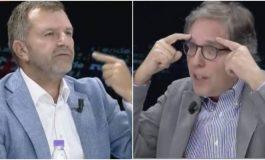"""PËRPLASJA PËR XHISIELËN/ Andi Bushati """"çmonton"""" Carlo Bollinon. Pronari i Report Tv shpërthen në fyerje"""
