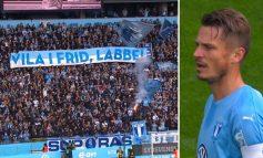MOMENTI PREKËS/ Futbollistët dhe tifozët me LOT në sy, i jepet lamtumira SHQIPTARIT  (FOTO+VIDEO)