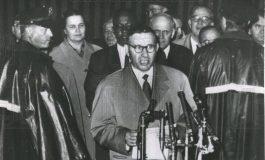 """1960/ Mehmet Shehu në Nju Jork, shqiptarët rrihen me """"vorio epirotët"""""""
