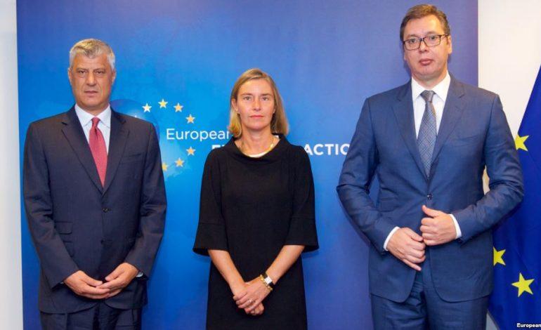 """""""MBETET QË…""""/ Përfundon pa marrëveshje takimi Thaçi-Vuçiç në Bruksel"""