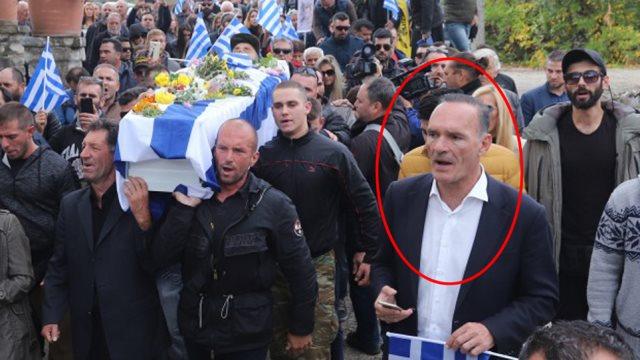 """VARRIMI I KATSIFAS/ Çfarë shkruan në FB ekstremisti GREK i """"Agimit të Artë. U arrestua kur…"""