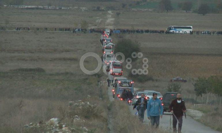 """""""NUK NDALEN""""/ Pas ceremonisë për KATSIFAS, grekët bllokojnë aksin Gjirokastër-Kakavijë"""