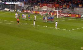 LIGA E KOMBEVE/ Lojtari shqiptar shënon një supergol për Maqedoninë (VIDEO)