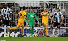 HIRUSHJA ANGLEZE/ Wolves mposht edhe Newcastle, ngjitet në 10-shen e parë