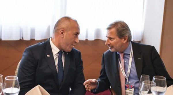 TAKSA 100%/ Haradinaj: Hahn e zyrtarët e lartë të BE më kërkuan falje