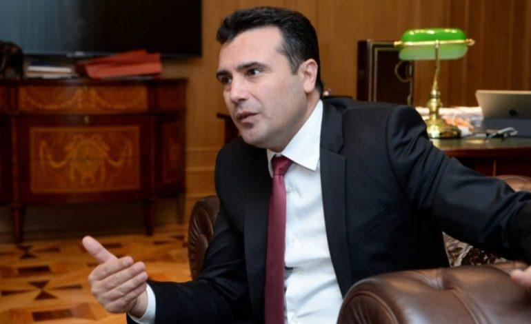 """""""TË TREGOJË NËSE MBËSHTET...""""/ Zaev: Duel televiziv me Mickoskin kur të dojë"""