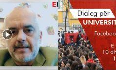 PROTESTA/ Rama sërish ftesë studentëve: I pres sot në 11:00 të dialogojmë për…