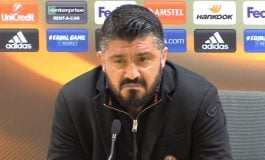 PAS ELEMINIMIT NGA EUROPA LEAGUE/ Gattuso: Më vjen të plas, Duhet ta hanim fushën pasi...