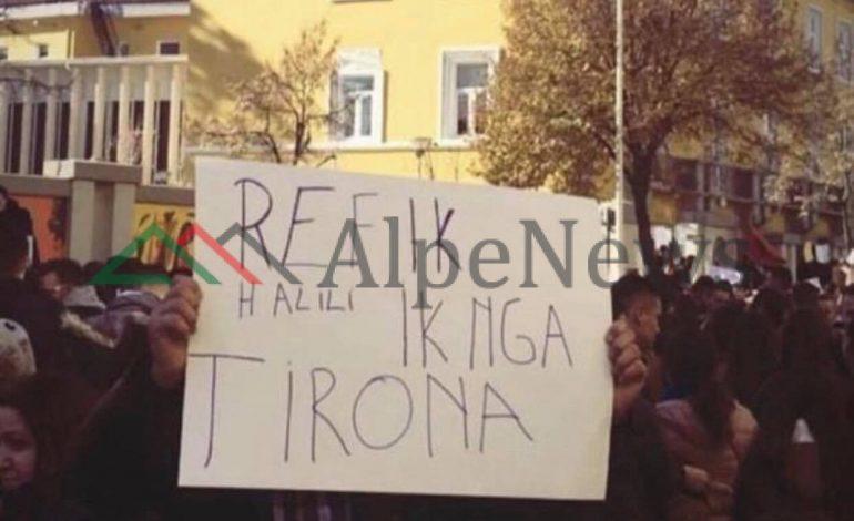 NJË RRUGË E DY PUNË/ Nga protesta e studentëve, kërkohet largimi i… (FOTO)