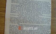 """DOKUMENTI I 1946/ Të arratisurit, faji i vetëm: """"Nuk u dorëzohen komunistëve"""""""