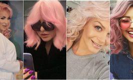 KOPJUAN NJËRA TJETRËN/ Ja vip-et që tërbuan dhe i kthyen flokët ngjyrë rozë: Nga Orinda...(FOTO)