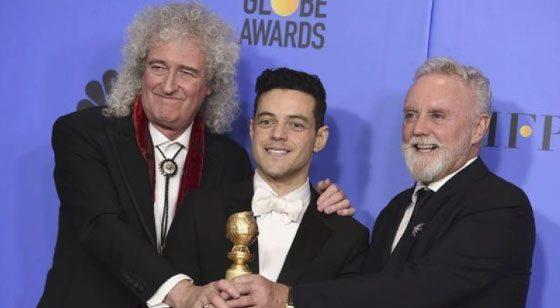"""GOLDEN GLOBES""/ Triumfon filmi mbi jetën e Freddie Mercury-it"